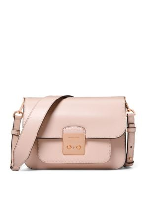 Sloan Editor Leather Shoulder Bag by Michael Michael Kors