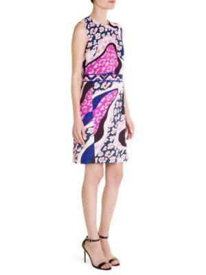 Emilio Pucci  Print Viscose Sleeveless Dress