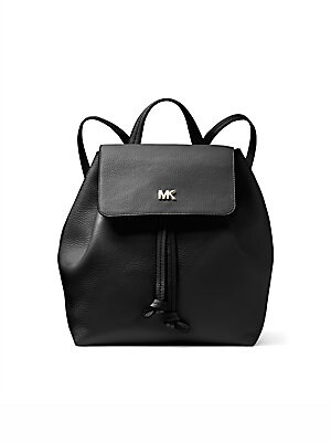 6d3e2adccba9 MICHAEL Michael Kors - Junie Medium Pebbled Leather Backpack - saks.com