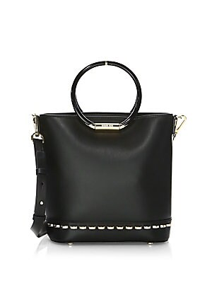 21d5a55bb81c MICHAEL Michael Kors - Medium Leather Bucket Bag - saks.com