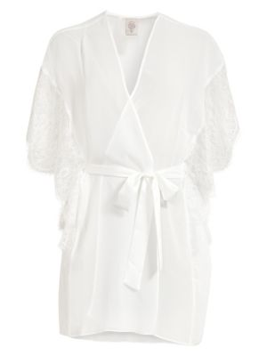 In Bloom Affinity Chiffon Wrap Robe