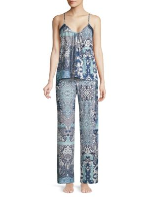 In Bloom On The Water Camisole and Pants Set
