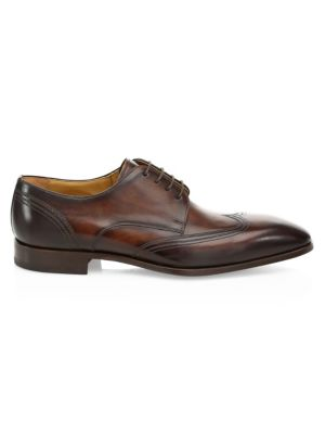 Collection By Magnanni Laser Cut Lace Up Dress Shoes by Saks Fifth Avenue