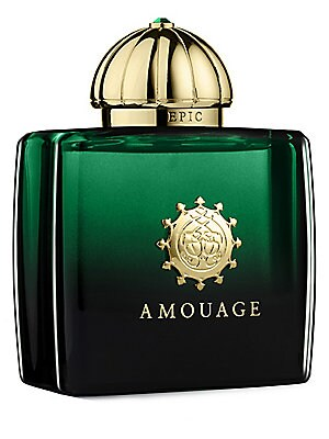 Image of Epic for Woman is a spicy oriental fragrance, inspired by the legends of the ancient Silk Road from China to Arabia. She follows the guiding light in search of the long lost aria. Beyond truth and immortality a Legend is born. 3.4 oz. Made in France. TOP