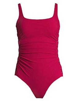 fbb66bba0 Product image. QUICK VIEW. Gottex Swim. Moto One-Piece Swimsuit