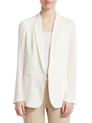 Grinson Silk Jacket by Theory