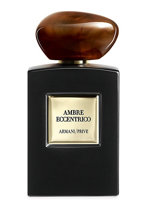 Image of La Collection is a tribute to they mythical accords of perfumer, inspired by tradition. Ambre Eccentrico showcases the iconic Amber accord as a charismatic and addictive blend. Paring down the structure to its warmest, most essential facets, Mr. Armani de