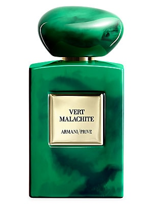 Image of La Collection des Terres Précieuses is a tribute to the countries and cultures that have inspired Mr. Armani. Vert Malachite is a tribute to the green stone that embodies the power and energy of Russia. Translated into luminous, vibrant lily, the sleek pr