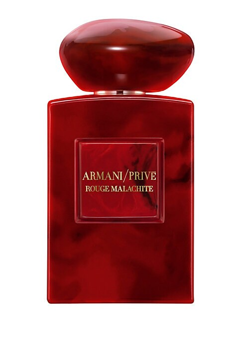 Image of La Collection des Terres Precieuses is a tribute to the countries and cultures that have inspired Mr. Armani. Rouge Malachite was imagined by Giorgio Armani as a red version of this precious Malachite stone, revealing the most passionate side of Russia, a