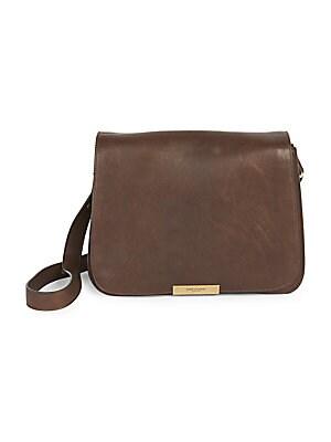 6532a47f5d14 Saint Laurent - Amalia Leather Convertible Crossbody Saddle Bag