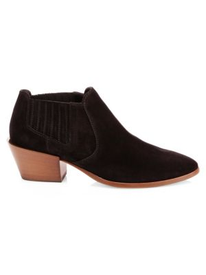 Short Suede Ankle Boots by Tod's