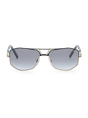 f84a0a4f95 Cazal - Cazal 61MM Modified Aviator Sunglasses