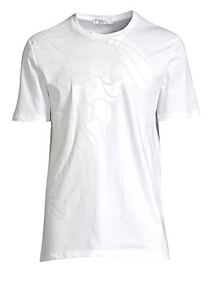 6c0cd87d63921 Versace Collection - Large Partial Tonal Medusa Face Cotton Tee