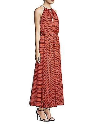 9bb56bab36d Diane von Furstenberg - Silk Maxi Dress - saks.com