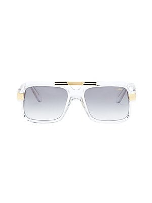 2f2bf900e09 Cazal Men s 56MM Large Square Sunglasses - Clear Gradient