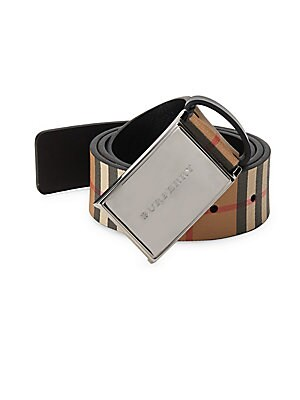 Charles Checkered Belt by Burberry
