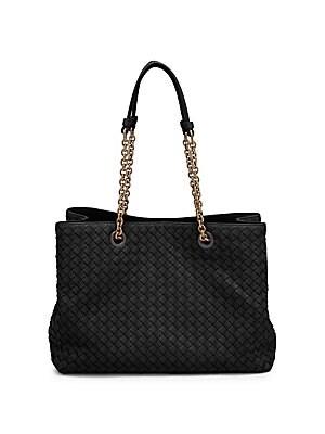 1de3a40125 Bottega Veneta - Woven Nappa Leather Hobo Bag - saks.com