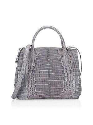96a6b10d1018 Nancy Gonzalez - Medium Lily Top Handle Bag - saks.com