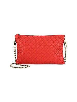 ... Medium Flap Messenger Bag more photos 17985 1816e  Bottega Veneta -  Intrecciato Mini Messenger - saks.com sale retailer 72892 002f9 ... a18ac2c007e99