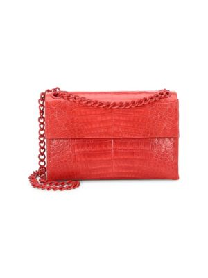 Nancy Gonzalez Medium Madison Crocodile Shoulder Bag