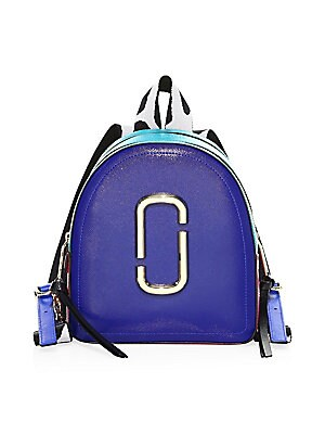 Coated Leather Backpack by Marc Jacobs