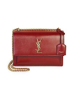 Saint Laurent - Small Kate Monogram Leather Chain Shoulder Bag ... 2d3cf7743b6dd