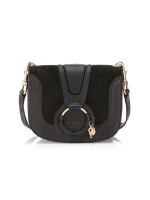 Small Hana Leather Crossbody Bag by See By Chloé