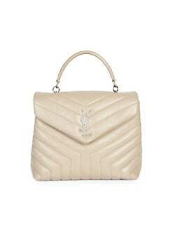 b535f418979 QUICK VIEW. Saint Laurent. Loulou Matelassé Leather Top Handle Bag