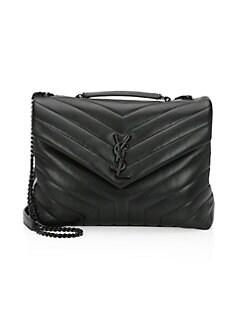 Saint Laurent. Medium Lou Lou Chain Strap Shoulder Bag fc60876fe6673