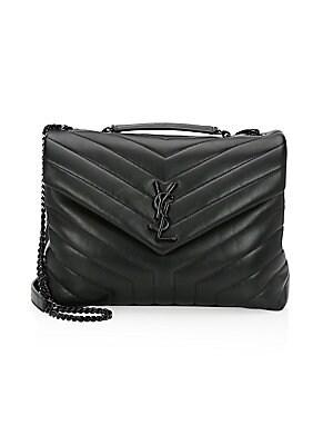 d966bc33441b Saint Laurent - Medium Lou Lou Chain Strap Shoulder Bag - saks.com