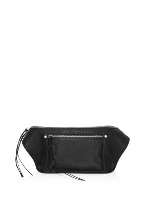 Rag And Bone Black Large Elliot Fanny Pack in 001 Black