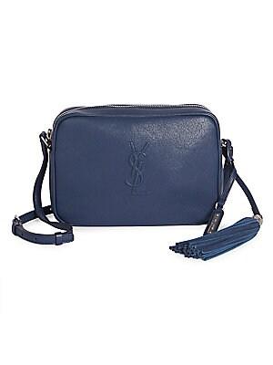 Saint Laurent - Medium Lou Leather Logo Camera Bag 005312014c