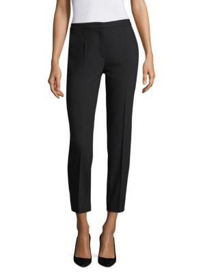 Talaranto Classic Straight Leg Ankle Pants by Escada