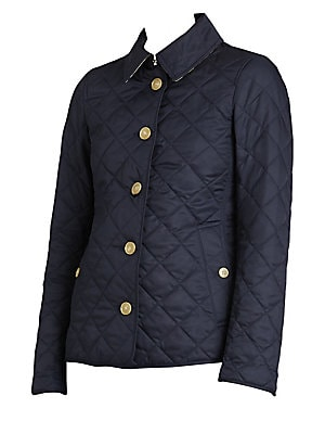Burberry Quilted Jacket Saks