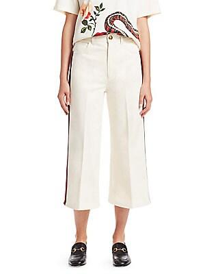 c389d2837 Gucci - Floral Fil Coupe Flare Pants - saks.com