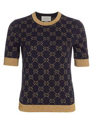 c3de633b2f Gucci - GG Jacquard Cardigan - saks.com