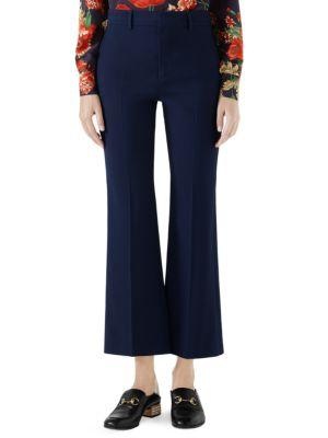 516ef545e Gucci - Long-Sleeve Floral Tie-Neck Silk Blouse - saks.com