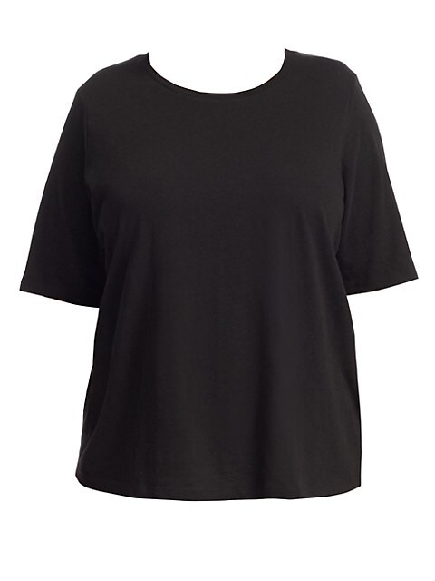 Half-Sleeve Cotton Top