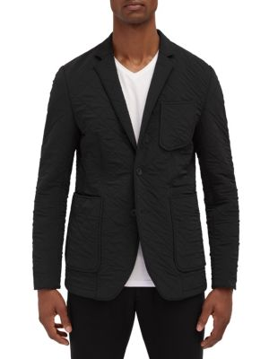 EFM-ENGINEERED FOR MOTION Allora Quilted Blazer in Black