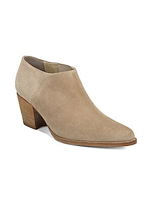 fac284898e907 Marilynn Suede Ankle Booties.  525.00. Vince - Hamilton Slip-On Booties