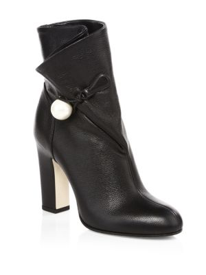 Bethanie Wrap Booties by Jimmy Choo