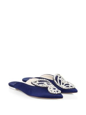 Bibi Pearl Butterfly Slippers by Sophia Webster