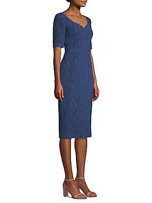 9e5cf817431 Jason Wu Collection - Stretch Cloque Jacquard Dress - saks.com
