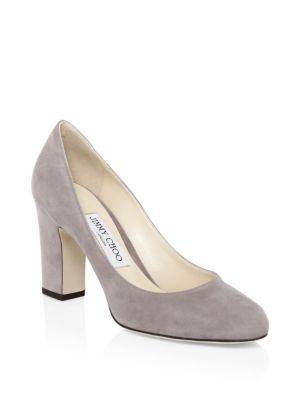 Billie Suede Pumps by Jimmy Choo