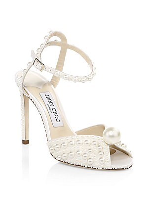 862ad8590b1 Jimmy Choo - Sacora Satin Peep-Toe Pumps - saks.com