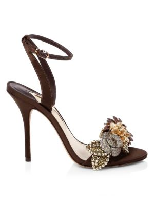 Lilico Stiletto Sandals, Cocoa