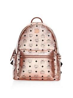 da663458a3 Product image. QUICK VIEW. MCM. Small-Medium Stark Metallic Backpack