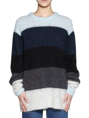 Opening Ceremony Albah Mohair Sweater, Blue