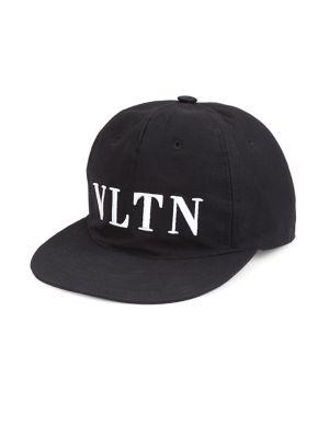 Black Vltn Logo Baseball Cap