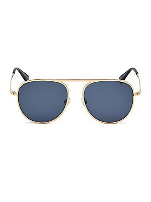 0edfa6b8852 Tom Ford - 55MM Gradient Lens Single Bridge Aviators - saks.com